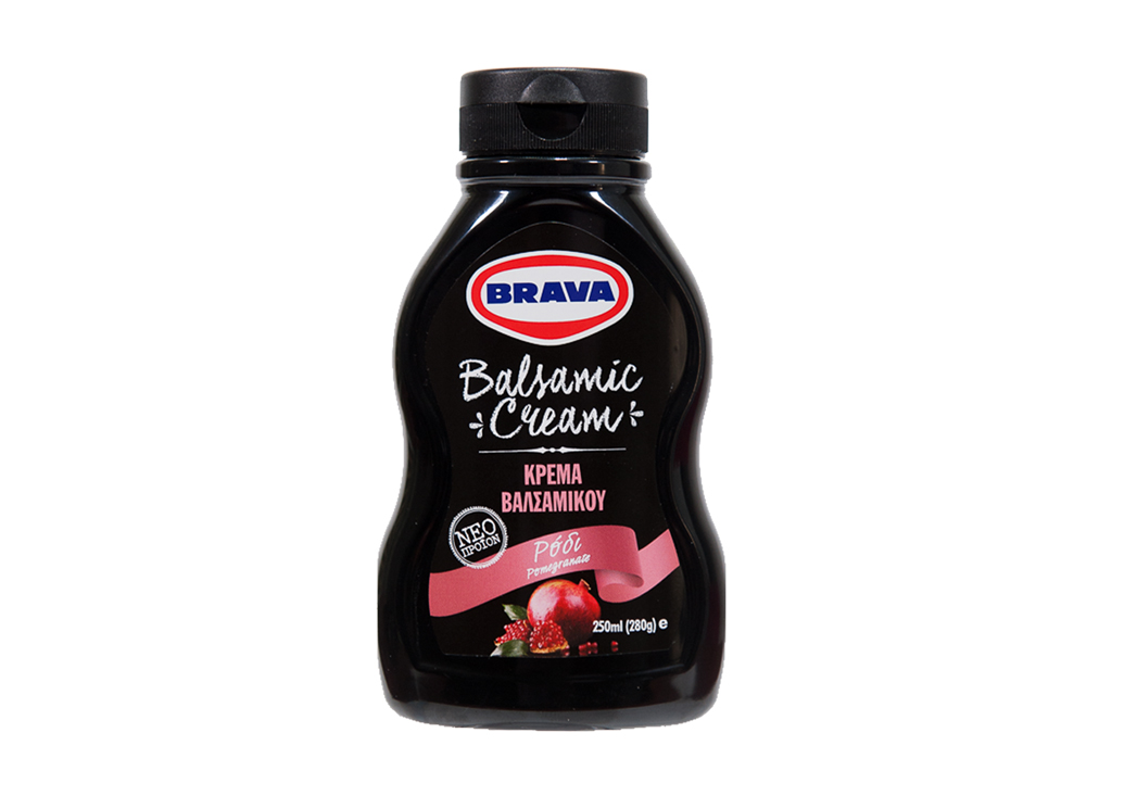 New BRAVA Balsamic Cream with Pomegranate (05/2017)