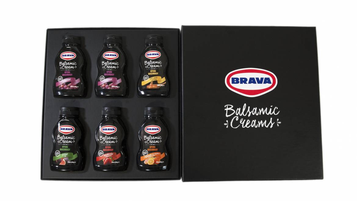 New Brava Balsamic Creams (12/2015)